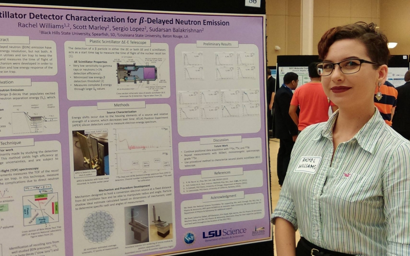 BHSU student at Louisiana State University
